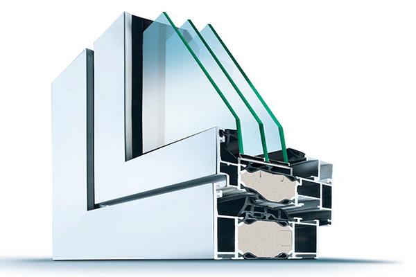 Fenster Aluminiumrahmen