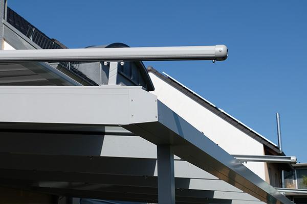 Terrassendach Detail