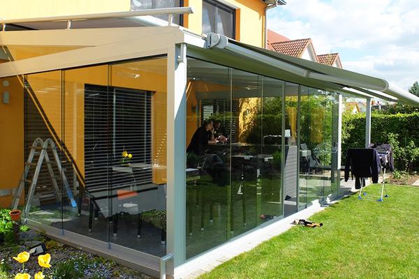 Verglasung Terrasse